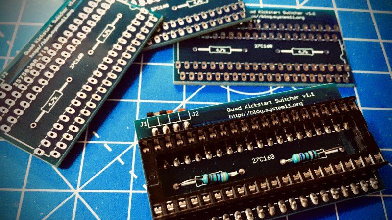 Quad kickstart Amiga 500/600/2000