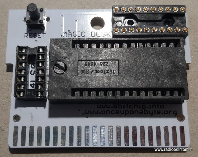 PCB - Montaggio tadto reset