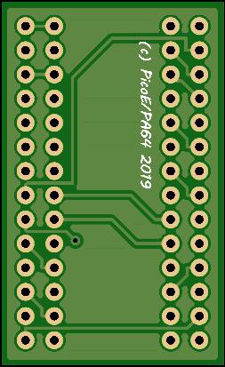 C64 PLA Adapter bottom