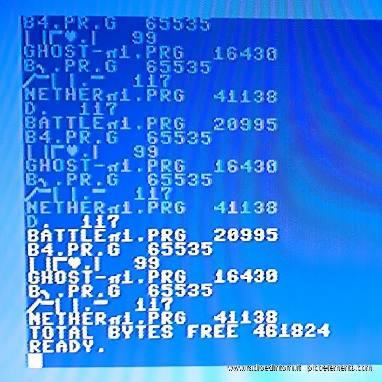 TIB PLC - Elenco file caricati su floppy