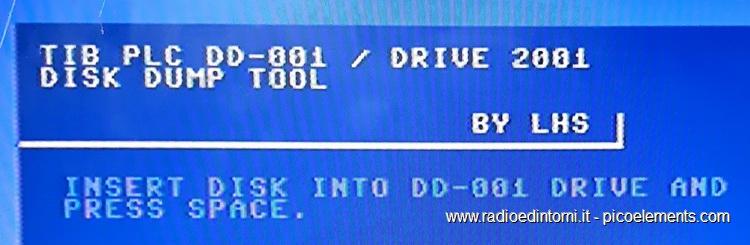 TIB PLC - Richiesta disco per immagine