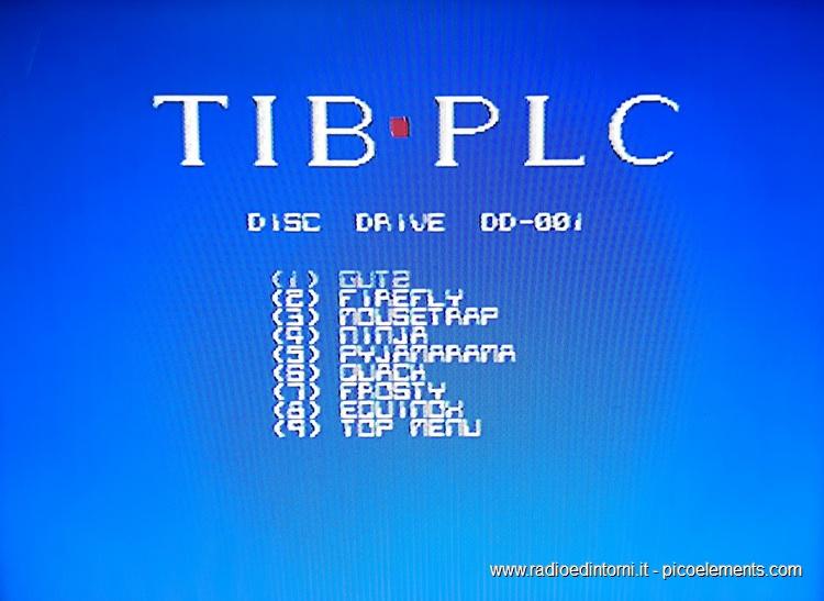 TIB PLC - Sezione Giochi